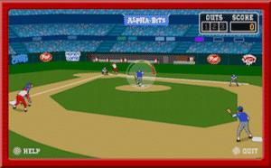 stealin home - a baseball game online