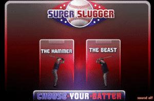 super slugger baseball game